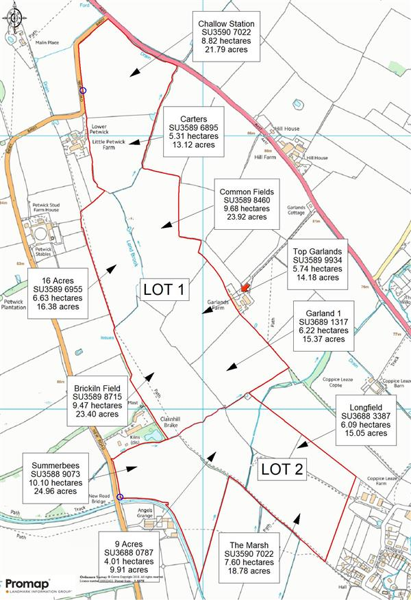 19685 Acres Land At Manor Farm West Challow Oxfordshire Sold STC