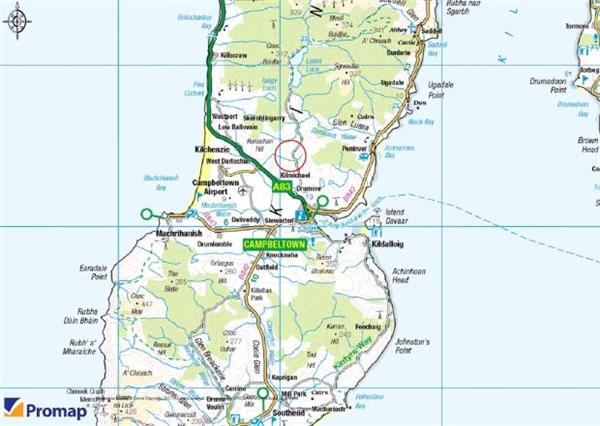 Campbeltown Scotland Map.12 Acres Gobagrennan Campbeltown Argyll And Bute Pa28 Central