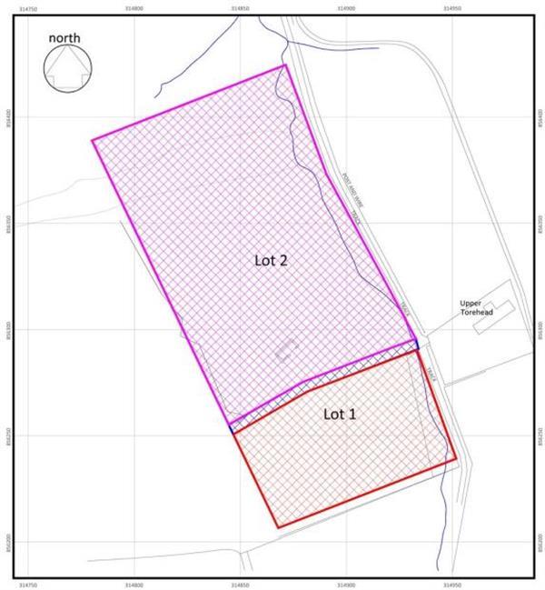 3.33 acres, Lot 2 Upper Torehead, Pluscarden, Elgin, Moray ...